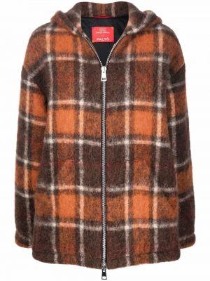 Brązowa klasyczna kurtka Palto