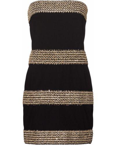 Коктейльное платье в полоску макси Bonprix