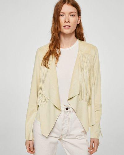 Куртка с бахромой облегченная Mango