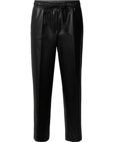 Czarne spodnie materiałowe Cambio