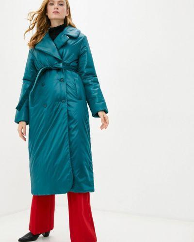 Зеленая утепленная куртка Pavel Yerokin