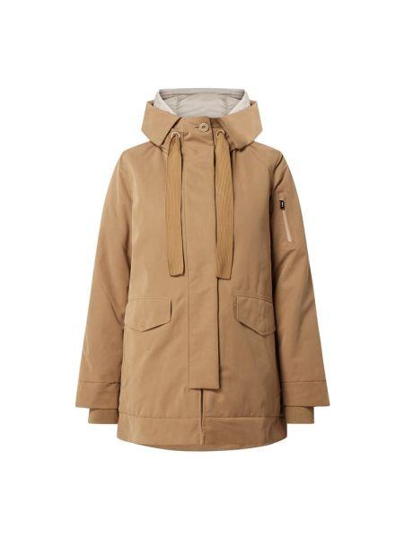Brązowa kurtka z kapturem G-lab