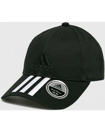Черная шапка хлопковая Adidas Performance