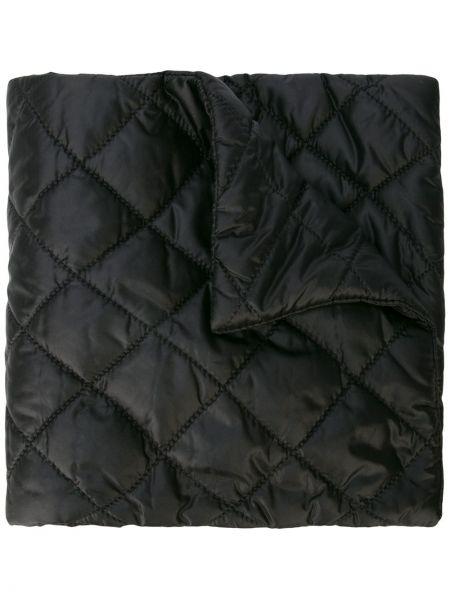 Стеганый нейлоновый черный шарф винтажный Chanel Pre-owned