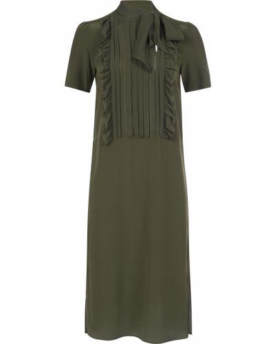 Шелковое платье - зеленое Twin-set