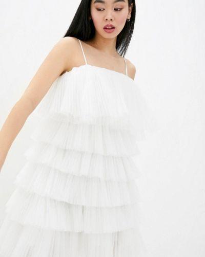 Белое вечернее платье Miss Sixty