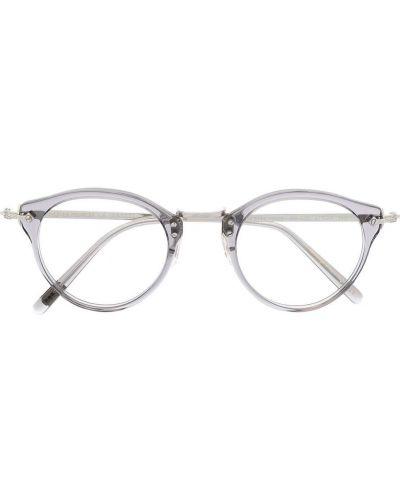 Światło prosto oprawka do okularów okrągły Oliver Peoples