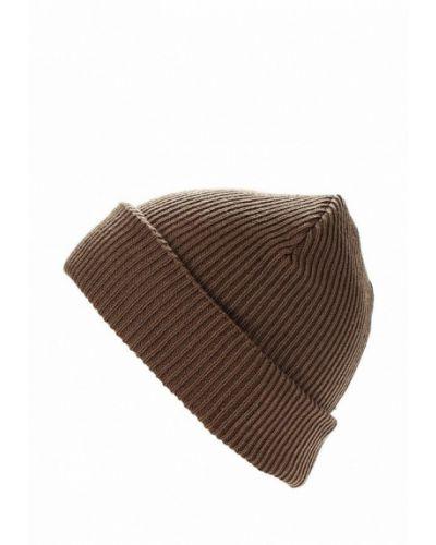 Коричневая шапка осенняя Buff