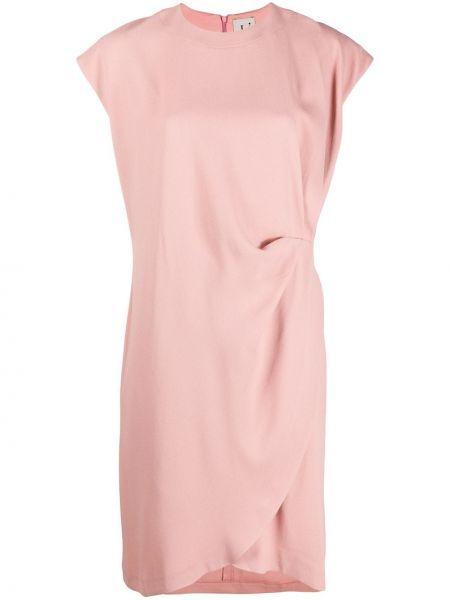 Платье розовое с рукавами Lautre Chose