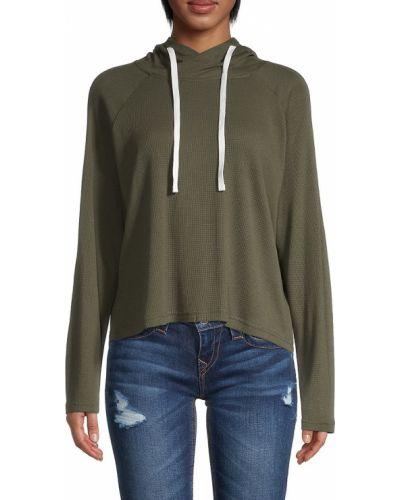 Bluza z kapturem - zielona Monrow