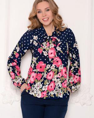 Блузка на резинке с цветочным принтом Diolche