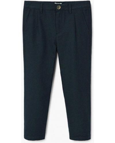 Синие брюки Mango Kids