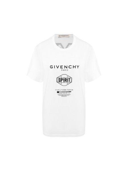 Футболка белая оверсайз Givenchy