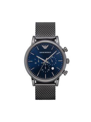 Czarny sport zegarek Emporio Armani