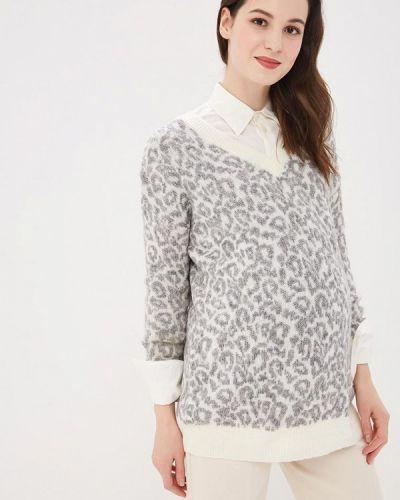 Серый пуловер Dorothy Perkins Maternity