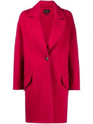 Пальто оверсайз - красное Isabel Marant