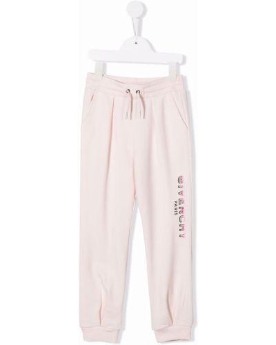 Joggery - różowe Givenchy Kids