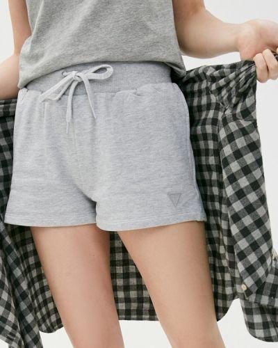 Серые повседневные джинсовые шорты Guess Jeans