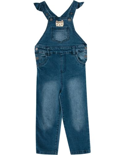 Полукомбинезон джинсовый синий Acoola