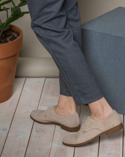 Замшевые дерби на шнуровке на каблуке Vagabond