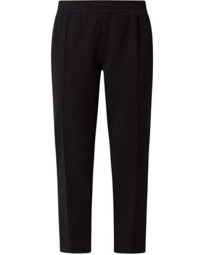 Spodnie bawełniane - czarne Marc O'polo Denim