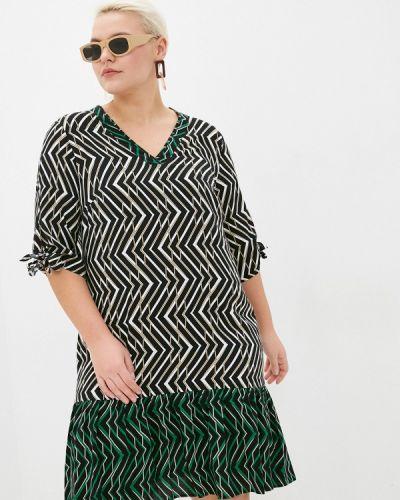 Повседневное черное платье Samoon By Gerry Weber