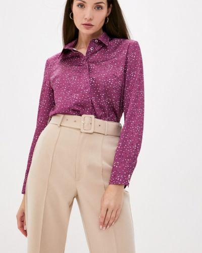Фиолетовая блузка с длинным рукавом с длинными рукавами Gregory