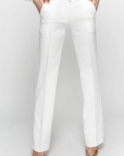 Классические брюки белые весенний Zubrytskaya