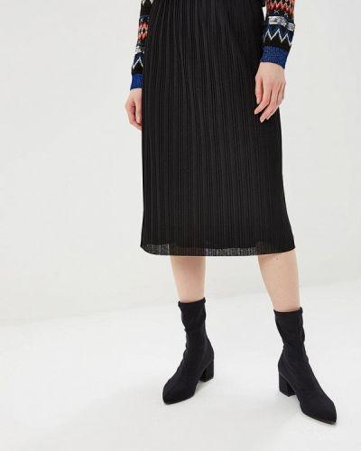 Плиссированная юбка черная Gerry Weber