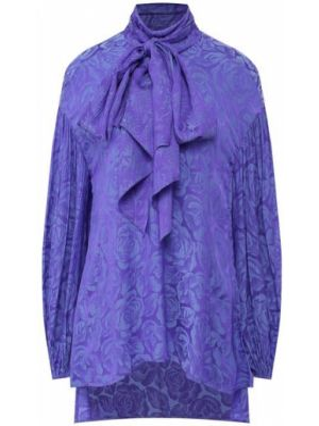 Блузка шелковая из вискозы Chloé