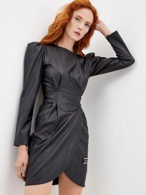 Кожаное платье - черное J.b4