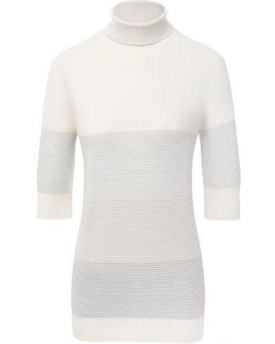 Серый пуловер из вискозы узкого кроя D.exterior