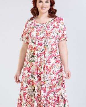 Платье платье-сарафан из вискозы прима линия