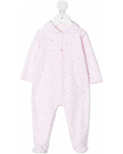 Розовая хлопковая пижама с длинными рукавами Absorba