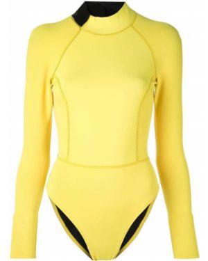 Спортивный купальник с длинным рукавом с молнией Cynthia Rowley