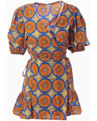Brązowa sukienka Souvenir