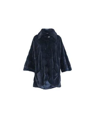 Синее пальто зимнее Vinicio Pajaro