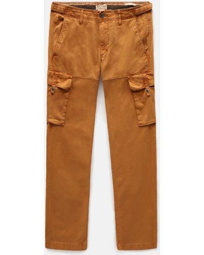 Брюки карго - оранжевые Timberland