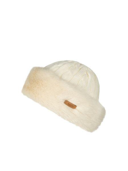 Wełniany biały czapka prążkowany bezpłatne cięcie Barts