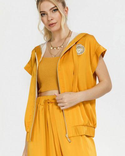 Желтый зимний пиджак Clever Woman Studio