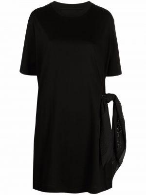 Sukienka mini bawełniana - czarna Givenchy