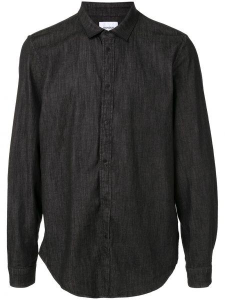 Koszula z długim rękawem klasyczna dżinsowa Dondup