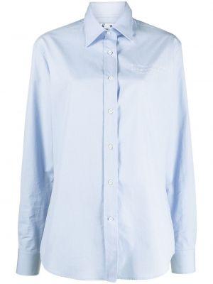 Biała koszula z haftem - biała Off-white