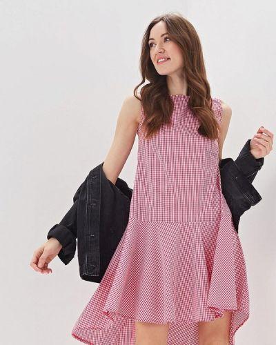Розовое платье Massimiliano Bini