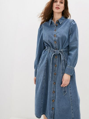 Джинсовое платье - синее Marks & Spencer