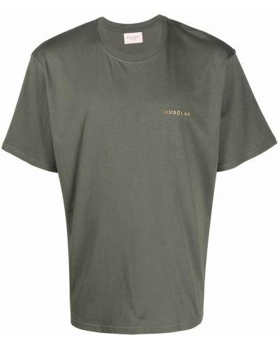 Zielona koszulka krótki rękaw Buscemi
