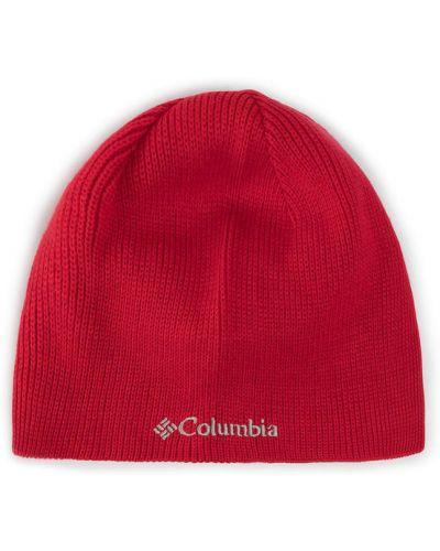 Czerwona czapka beanie Columbia