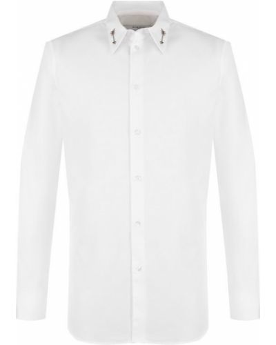 Рубашка шелковая хлопковая Givenchy