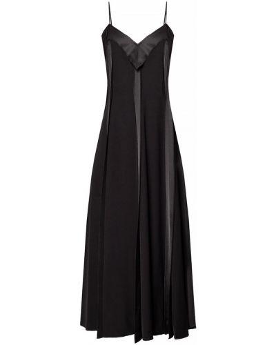 Sukienka bez rękawów - czarna Mm6 Maison Margiela
