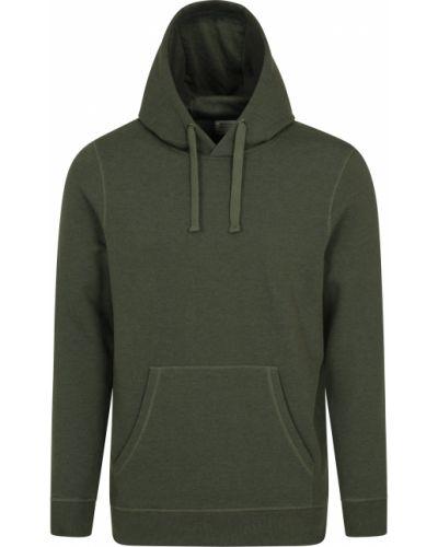 Zielona bluza z kapturem Mountain Warehouse